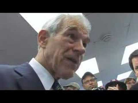 Ron Paul files in Concord, NH Part 5 Pro-life Answer