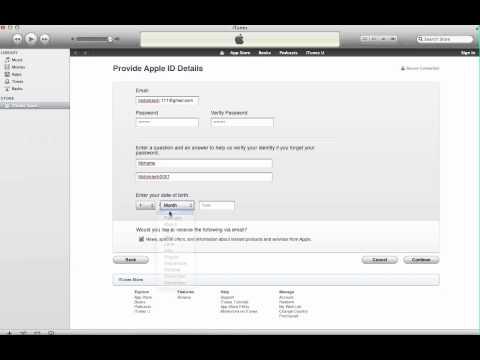 วิธีสร้าง Apple ID ไว้โหลดแอปฟรี