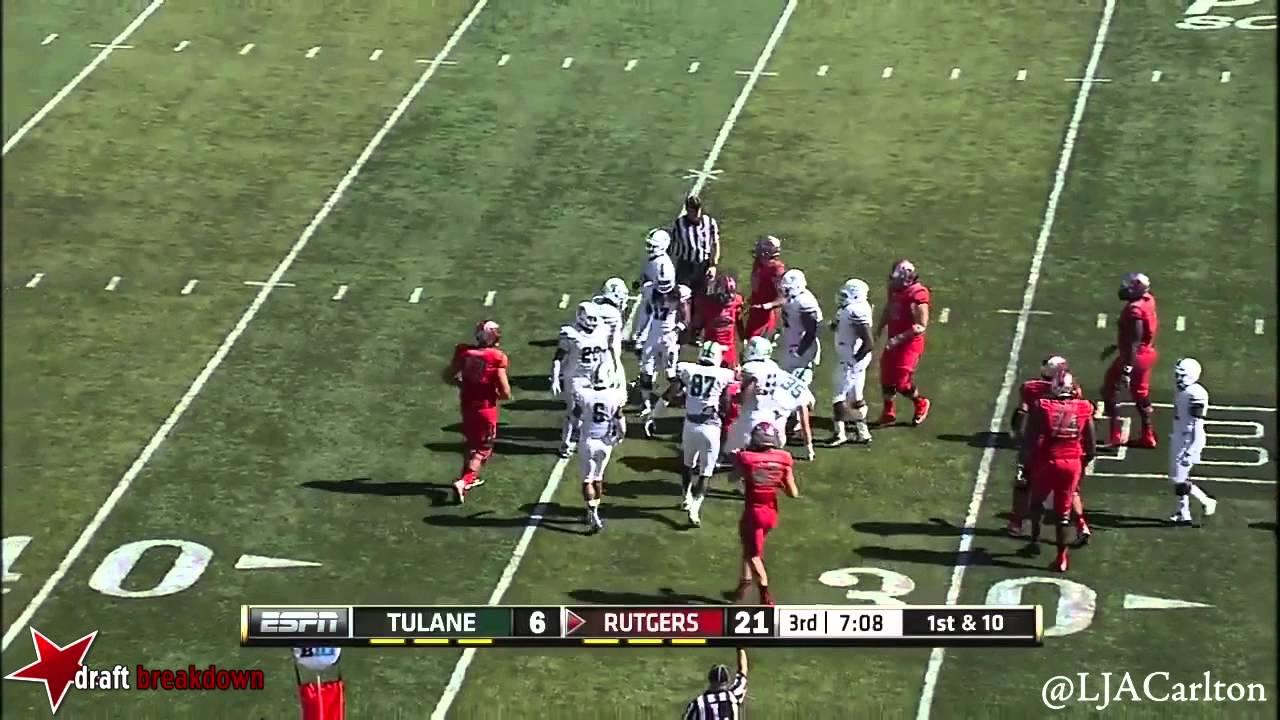 Lorenzo Doss vs Rutgers (2014)