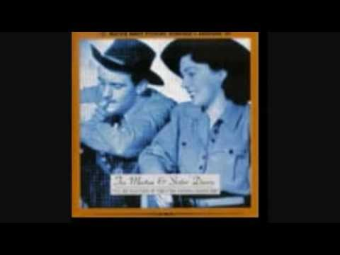 Tex Morton & sister Dorrie - Red River Valley (version Two) -  (c.1948). video