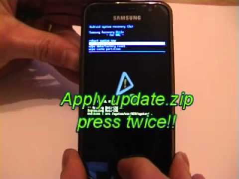 Root Galaxy S i9000 and install a custom rom