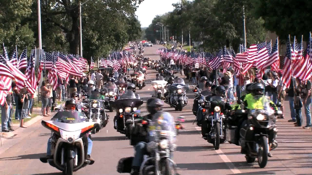 2012 Run For The Wall In Junction City Ks Youtube