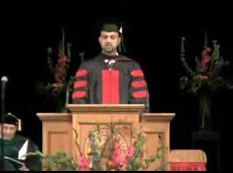 U of U Med School 2008 Commencement Speech, Joe Mortensen