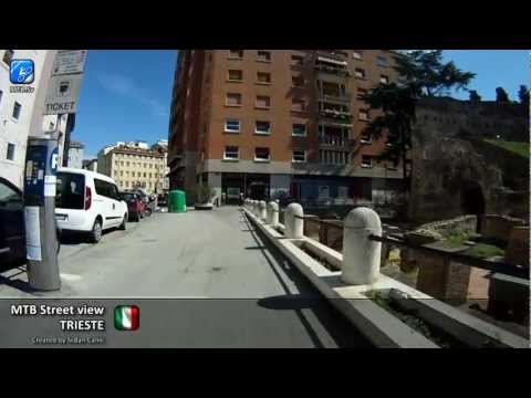 MTB Street view - Trieste, Italy - City centre and around (1/2)