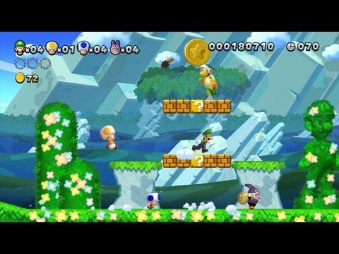 New Super Luigi U - Celebrating the year of Luigi (Wii U Gameplay)