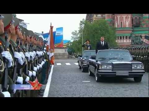 EXÉRCITO   RUSSO DIA DA VITÓRIA   PARADA, 2012.