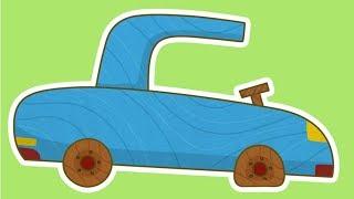 Çizgi Film Türkçe Izle! Çocuklar Için Arabalar - Patlamış Lastik