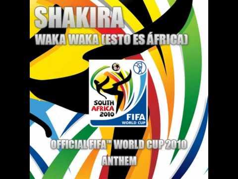 Waka Waka (Esto Es África) FIFA World Cup 2010 - Shakira &...