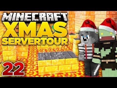 Jump and Run Server! - Minecraft X-MAS Server-Tour  #22   ungespielt