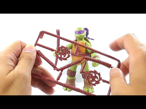 REVIEW DEL DONATELLO DE TEENAGE MUTANT NINJA TURTLES 2012 EN ESPAÑOL