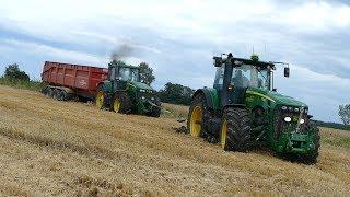 Odchwaszczenie pszenicy ozimej/ John Deere 6110 MC & Agrio Napa/ Kula