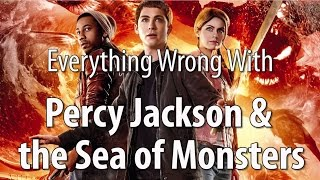 Everything Wrong With Percy Jackson & The Sea Of Monsters