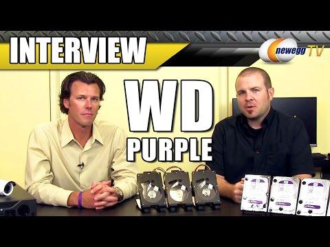 WD Purple Surveillance Storage Interview - Newegg TV