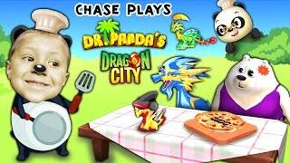 Chase plays Dr. Panda's Restaurant 2 AGAIN + Dragon City (FGTEEV Random Gameplay)