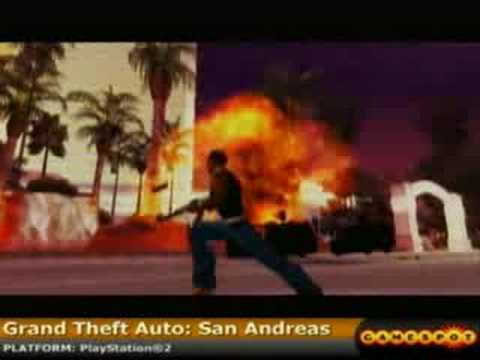 Grand Theft Auto: San Andreas PS2 Review
