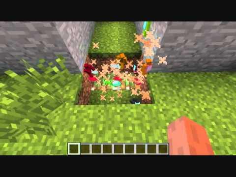 Guerra de muñecos de arcilla en minecraft (N v.s V)