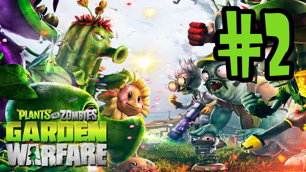Plants Vs Zombies Garden Warfare Gameplay Walkthrough Part 2 Chomper Sunflower Xbox One