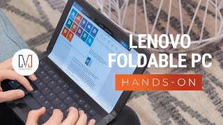 This is the World's First Foldable Computer by Lenovo!