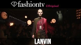 Edie Campbell, Anna Ewers at Lanvin Fall/Winter 2014-15 | Paris Fashion Week PFW | FashionTV