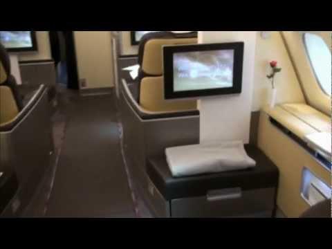 Lufthansa Airbus A380 First Class