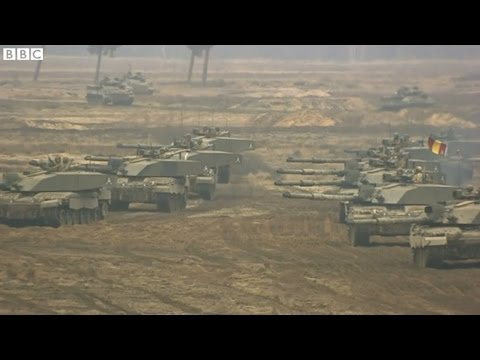 Ukraine Conflict: UK joins NATO Exercise in Poland - BBC News