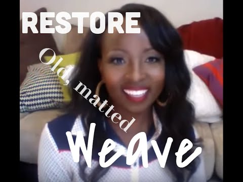 Product that revives and restores dry tangled weave hair extensions!