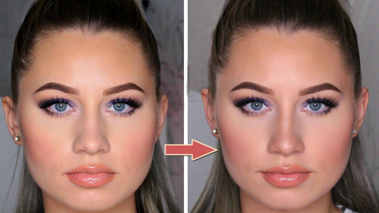 Как при помощи макияжа уменьшить нос