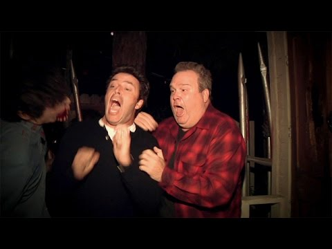 Andy Goes to a Haunted House with Eric Stonestreet