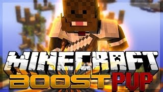 Minecraft BOOST PVP w/ TBNRFrags, Woofless, and AshleyMariee