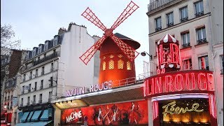 EXPLORING PARIS: The Red Light Sex Show Area (Pigalle)