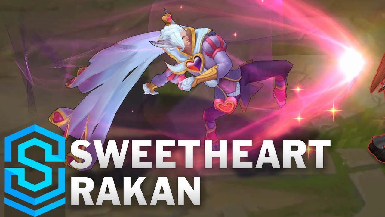 Sweetheart Rakan Skin Spotlight - Pre-Release - League of Legends