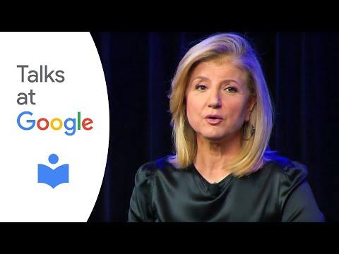 Authors at Google: Arianna Huffington | Thrive | Google UK, London