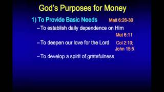 The Love of Money - Chuck Missler