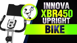 Innova XBR450 Folding Upright Bike with Backrest and iPad/Android Tablet Holder review 2019