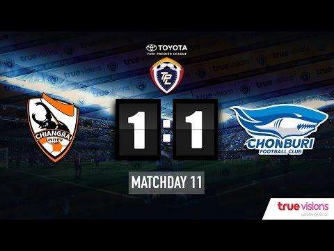 TPL 2015 - Chiangrai United 1-1 Chonburi FC