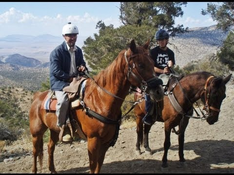 HORSEBACK RIDING AT BALDWIN LAKE STABLES, CA - 7/5/2012
