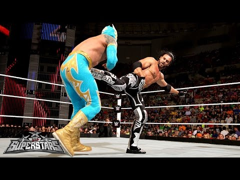 Sin Cara Vs. Justin Gabriel: Wwe Superstars, Sept. 18, 2014 video