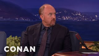 Louis C.K. Quit The Internet  - CONAN on TBS
