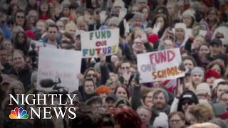 Tens Of Thousands Of Los Angeles Teachers Strike After Negotiations Collapse | NBC Nightly News