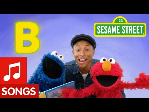 Sesame Street: B is for Book (with Pharrell Williams)