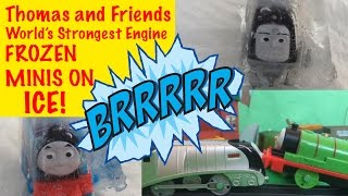 Thomas and Friends World's Strongest Engine - Frozen Minis on Ice