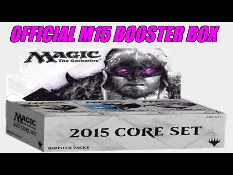Official M15 Booster Box Opening (EPIC)