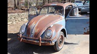 1958 Volkswagen Beetle Ragtop : Starting Work on the 58 Vw Bug Patina Ride .