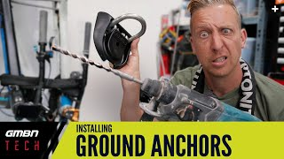 How To Install A Ground Anchor | Ultimate Bike Security