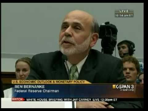 Ron Paul : Why do central banks hold Gold? Bernanke : Tradition