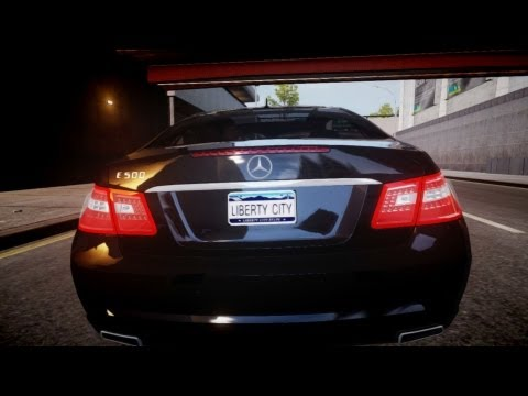GTA IV - Mercedes E-500 (W212) BEst Graphics [ENB series by [M3rT]