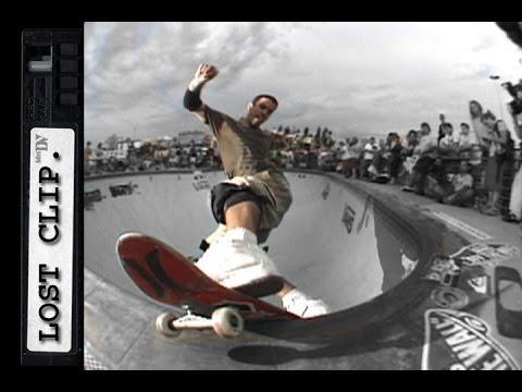 Bob Burnquist Lost & Found Skateboarding Clip #90