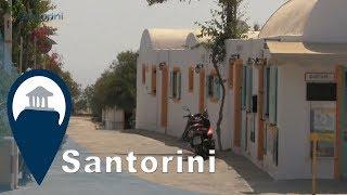 Santorini | Karterados settlement near Fira town