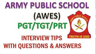 Preparation & Tips To Crack AWES Interview With Questions & Answers