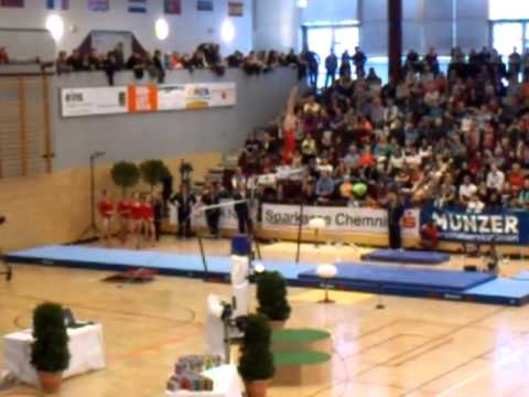 Kyla Ross Uneven Bars GER-USA-ROM Friendly Competition 2013